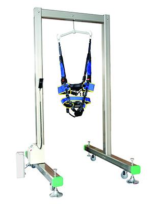单边门架式电动减重步态训练器
