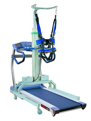象鼻式电动减重步态训练器(配进口电动跑