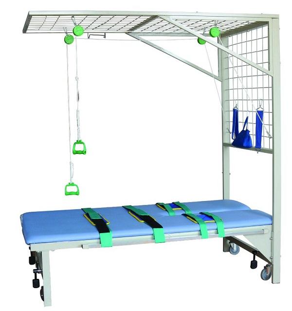 功能牵引网架(网架和床)