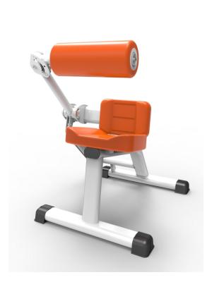 等速肌力训练器 (坐式腹背训练器)